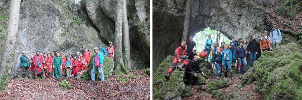 höhle franken entdeckt